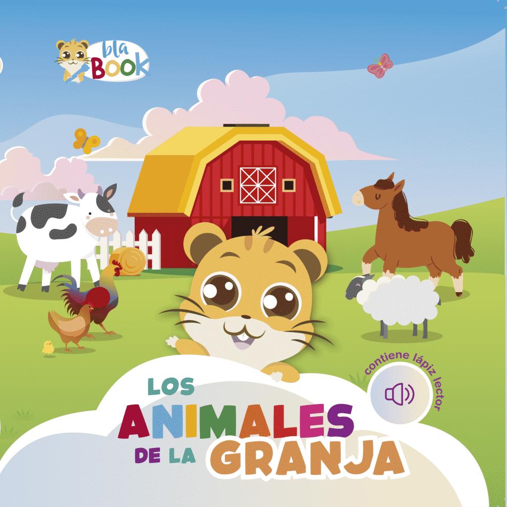 Imagen del libro interactivo Los animales de la granja blabook