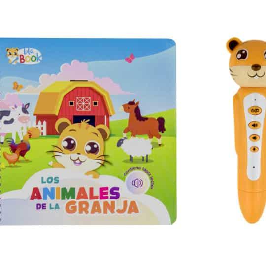 """Cuento infantil blabook con lápiz interactivo """"Los animales de la granja"""""""