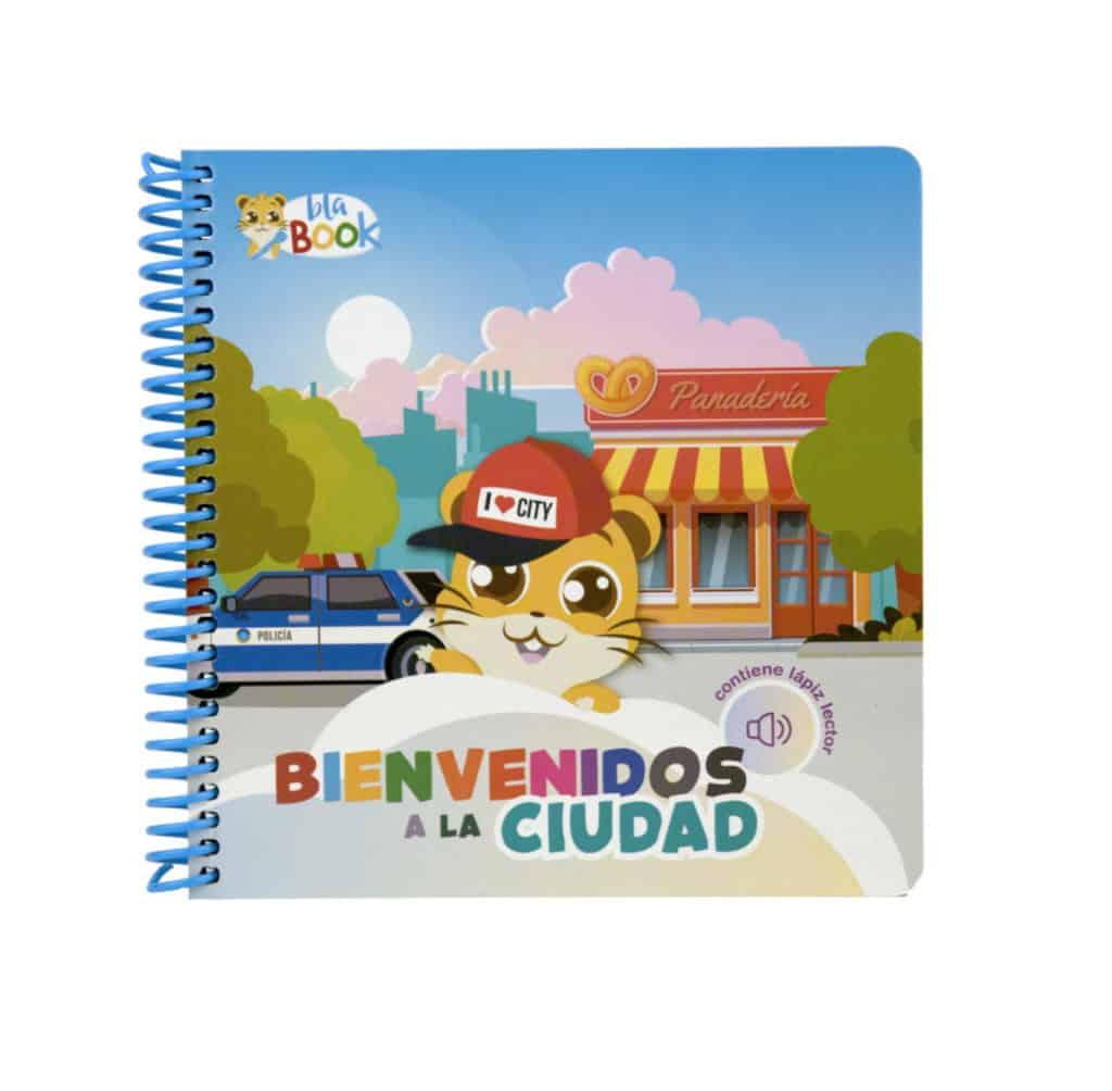 """Libro de cartón """"Bienvenidos a la ciudad"""