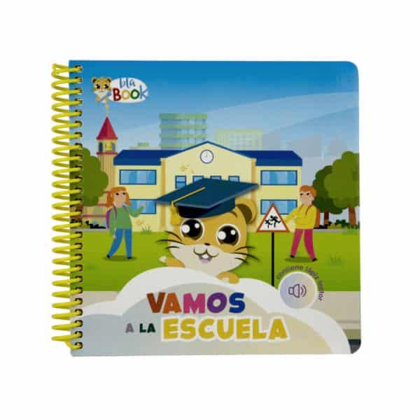 """Libro infantil interactivo """"Vamos a la escuela"""""""