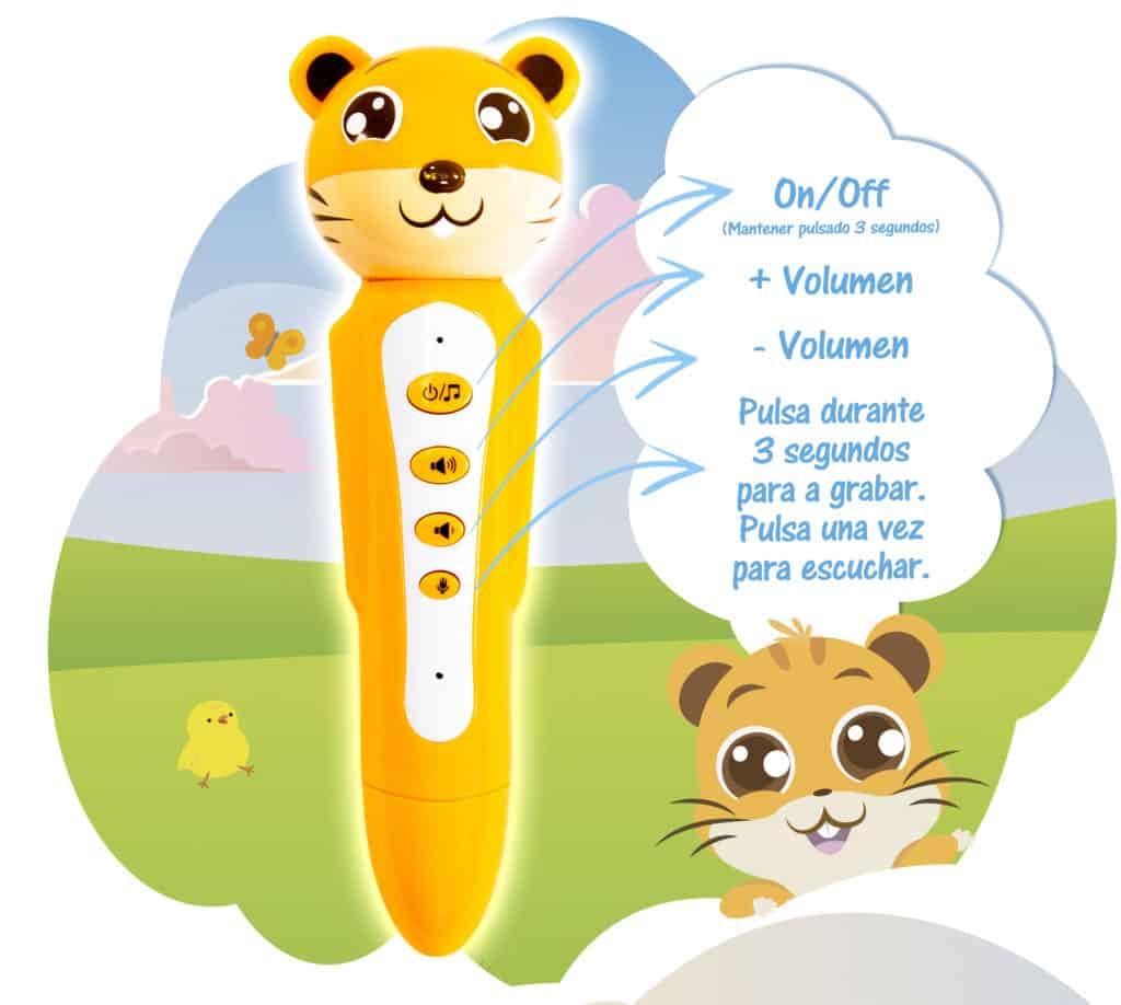 Lápiz interactivo para niños